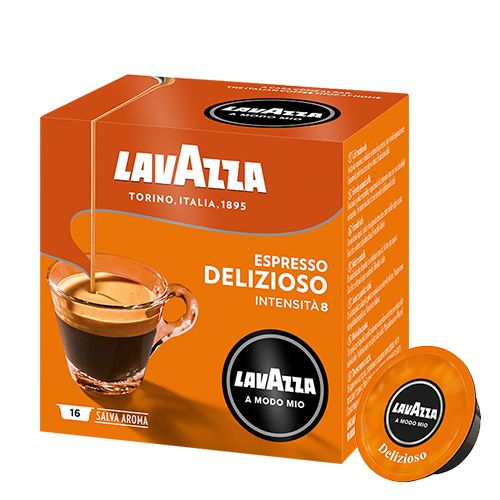 lavazza delizioso espresso 16 kapseln f r lavazza a modo mio jetzt 4 99. Black Bedroom Furniture Sets. Home Design Ideas