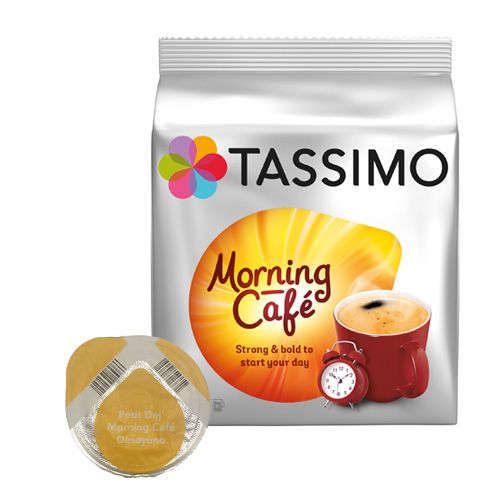 tassimo morning caf 16 kapseln f r tassimo jetzt 4 79. Black Bedroom Furniture Sets. Home Design Ideas